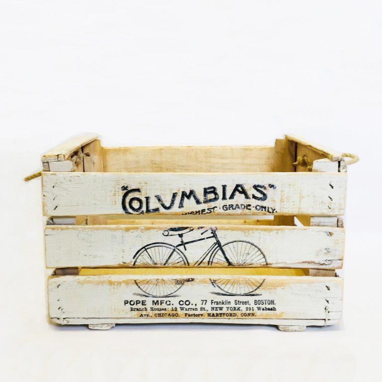 Reinventa12_caja antigua de madera blanco vintage diseño Columbias