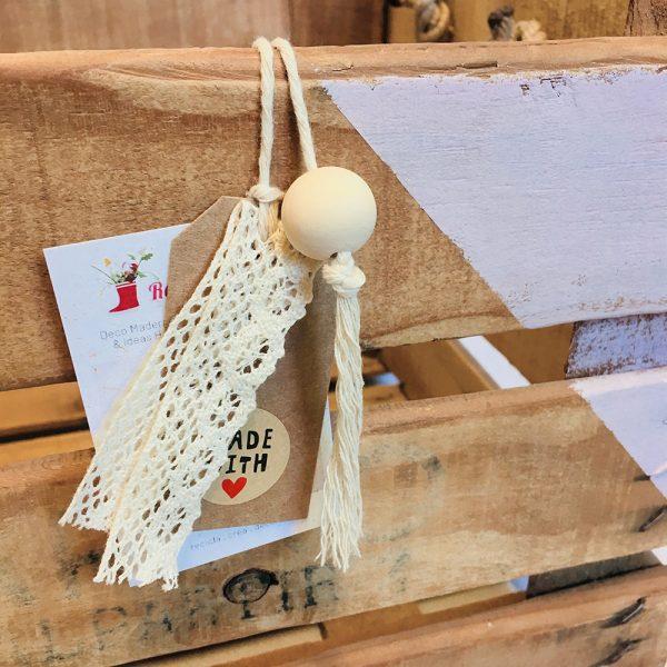 """Caja de madera natural """"Costa Brava"""""""