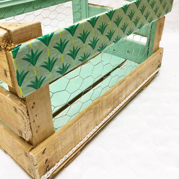 caja de madera natural casilda