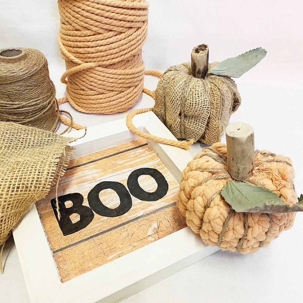 Reinventa12_calabazas handmade para decorar en halloween